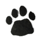 Paw Prints Black (+R350.00)