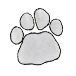 Paw Prints White (+R350.00)